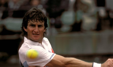 For a time Peter McNamara was a force in the singles game, reaching the semi-finals of the Australian Open twice. In 1983 he was No 7 in the world.