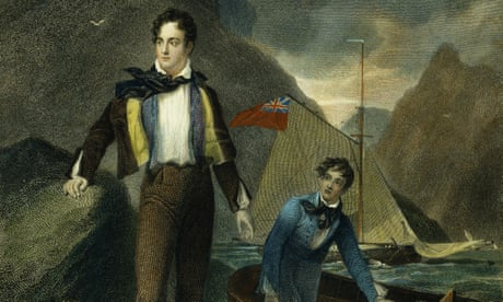 In a squall on Lake Geneva in 1819, Shelley has no fear of drowning