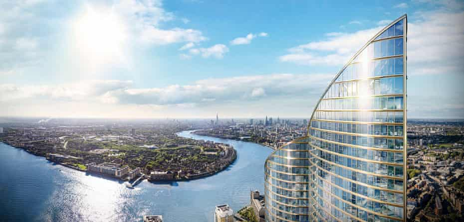 The construction of Spire London is expected to be completed in 2020.