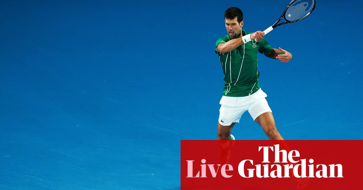 Novak Djokovic v Dominic Thiem goes to deciding set: Australian Open final – live! | Sport