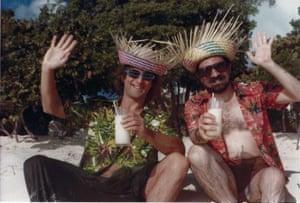 De Niro and Scorsese in Sint Maarten