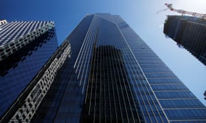 The Millennium Tower in San Francisco, California, has sunk 16 inches and tilted 2 inches since completion.
