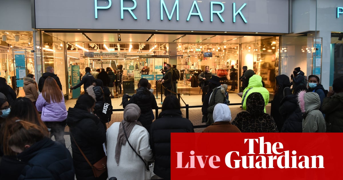 UK business confidence jumps as non-essential shops, pubs and restaurants reopen – business live