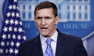 Michael Flynn served as Donald Trump's national security adviser for just under a month before resigning.