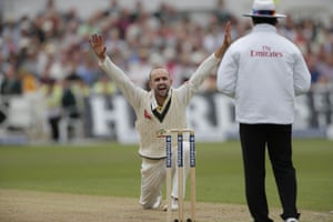Day two of the 4th Investec Ashes Test match between England and Australia at Trent Bridge