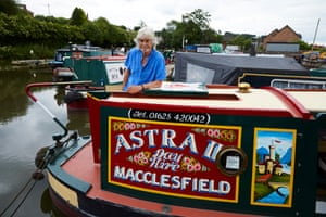 'All I've ever wanted is to produce stuff that the old working boat families would have liked. If some modern person on the canal doesn't like it, I don't really care. If they like it and I'm not insulting their tradition then as far as I'm concerned it's right and that's all that matters and I'm happy'