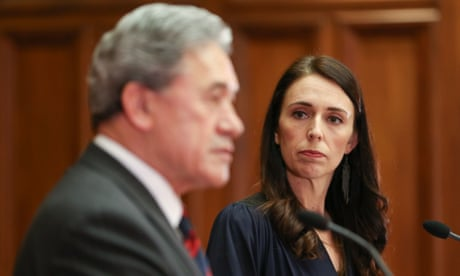 New Zealand coalition under strain as Jacinda Ardern prepares for maternity leave