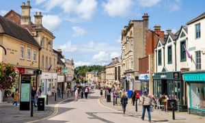 Chippenham high street, Wiltshire
