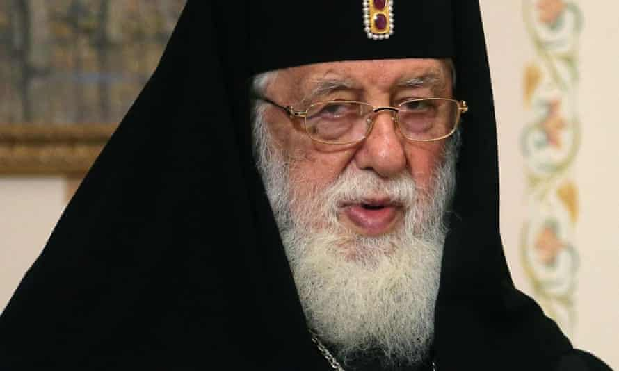 The patriarch of the Georgian Orthodox Church, Ilia II