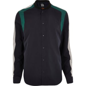 Panel shirt £50, Design Forum X Lou Dalton at riverisland.com