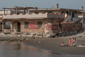 One of the thousands of illegal villas built on the shore of Castel Volturno with the alleged support of the Camorra.