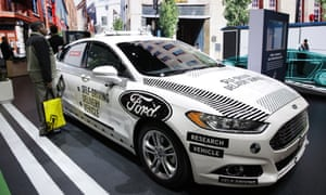 Ford Backed Self Driving Car In Crash That Sent Two To Hospital