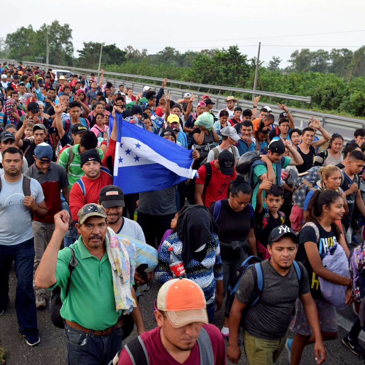 New migrant caravan receives cooler welcome in Mexico | Migration ...