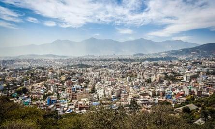 Down-at-heel labyrinth … Kathmandu.