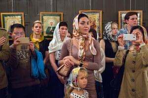 Orthodox Easter service, Russian Consulate (2016)