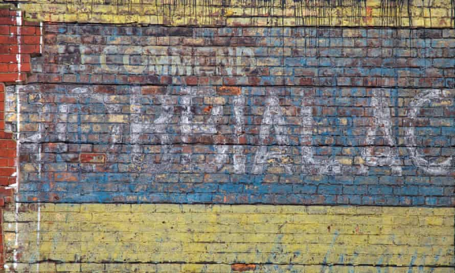 A ghost sign in Radcliffe, Bury.
