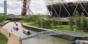 Olympic Park waterways