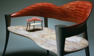 Sitting pretty: the Embrace seat by John Makepeace.