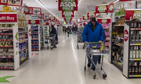 Average British family spent extra £50 on groceries in January