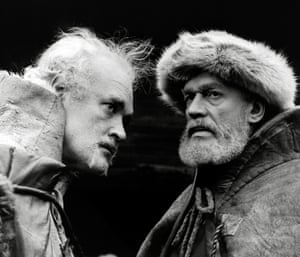 Patrick Magee and Paul Scofield in King Lear.