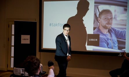 Uber's spokesman in Denmark, Kristian Agerbo, announces that the service will no longer be available in the country.