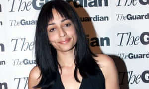 Zadie Smith, after winning for White Teeth in 2000.