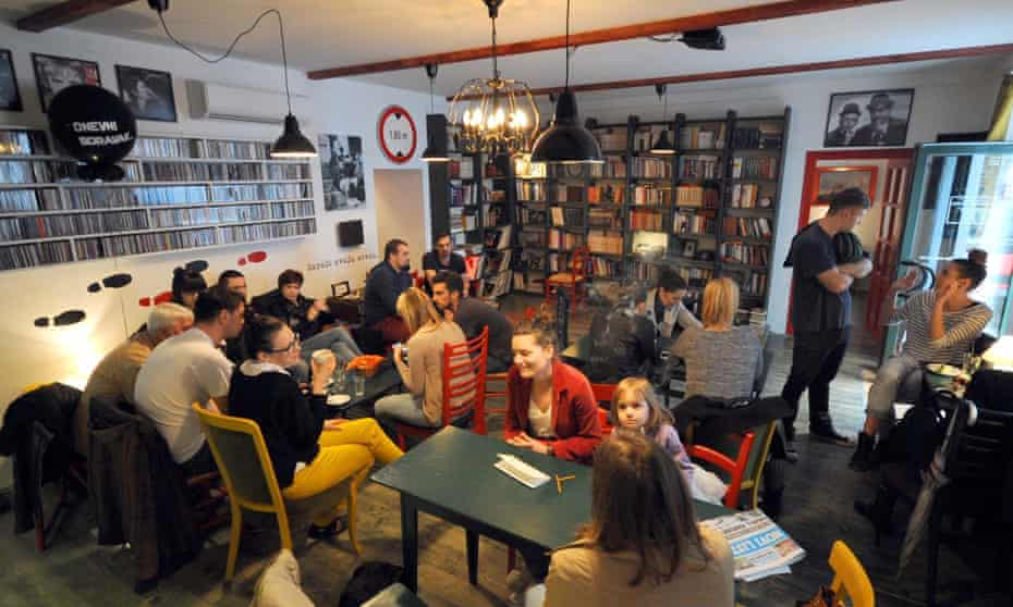 Book caffe Dnevni boravak, Rijeka, Croatia