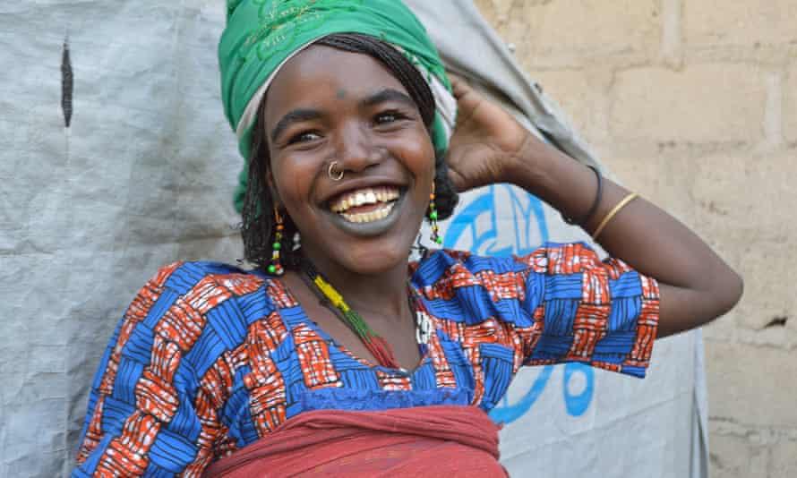 Keltume Musa, who fled Boko Haram six months ago.