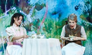 Melissa Lowe and Elizabeth Twells in The Importance of Being Earnest, at Albert Halls, Bolton