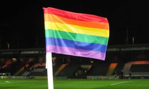 Rainbow corner flags, substitution boards, armbands and laces will feature in women's games this weekend and after the international break in the men's game.