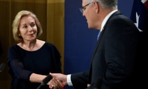 Scott Morrison congratulates Ita Buttrose on her appointment as ABC chair