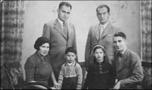 Eva Szepesi with family