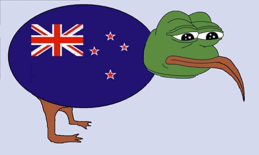 David Astil NZ flag