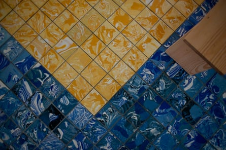 Made in Liverpool … Assemble's tile floor created in Toxteth.