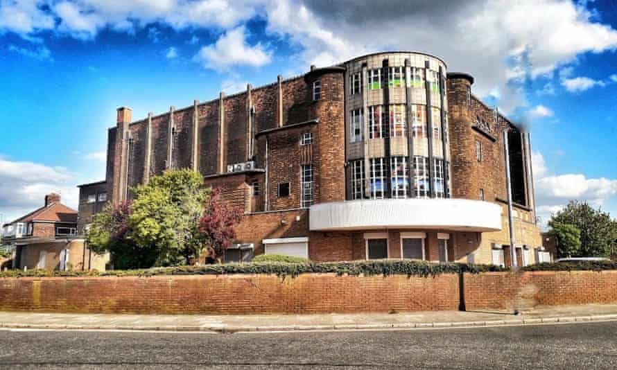 The former Abbey Cinema in Wavertree, Liverpool