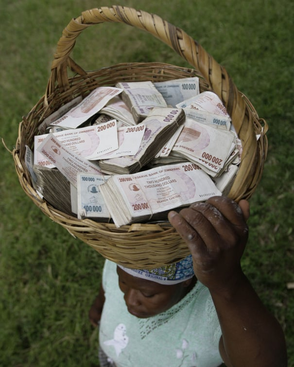 Zimbabwe's trillion-dollar note: from worthless paper to hot