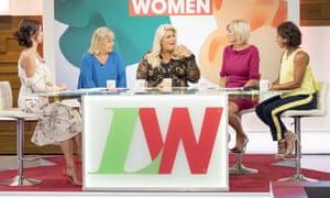 Gemma Collins on Loose Women this week.