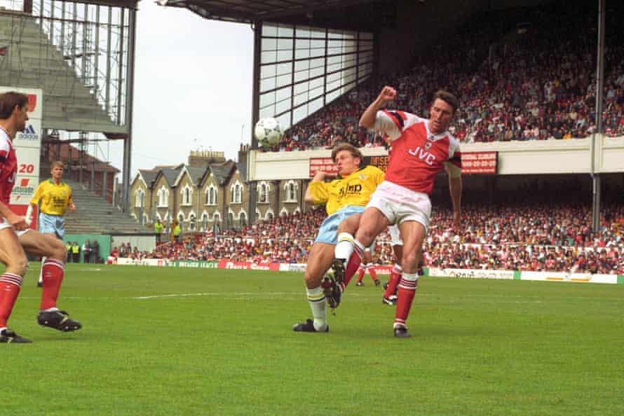 Crystal Palace visit Highbury on the final day of the 1992-93 season.
