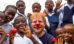Ed Sheeran visited the Street Child Liberia project in Liberia, which uses Comic Relief money to help give vulnerable children a safe place to stay