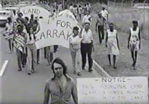 The Larrakia people fight for land rights over the area that would become the Kulaluk lease, near Darwin.