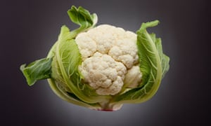 Cauliflower ... 'dense and grainy, with an underlying softness'.