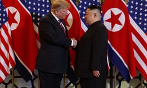 Donald Trump,Kim Jong UnU.S. President Donald Trump has dinner with North Korean leader Kim Jong Un, Wednesday, Feb. 27, 2019, in Hanoi. (AP Photo/ Evan Vucci)