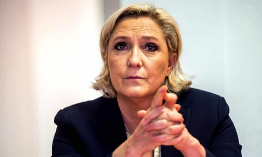 France's far-right Front National leader Marine Le Pen