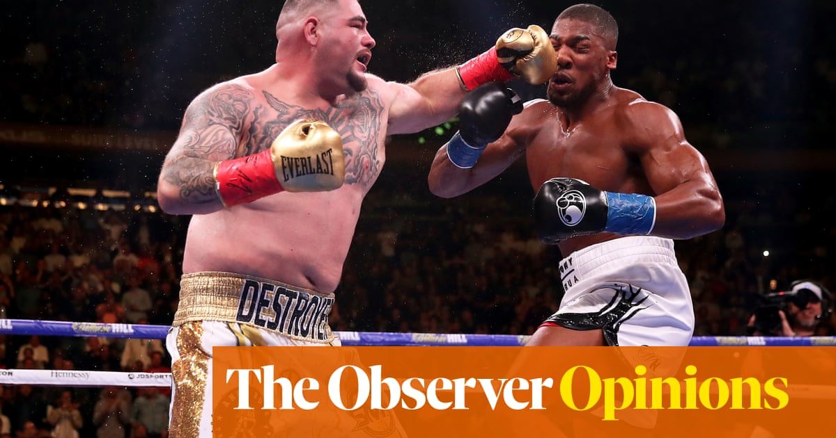 Anthony Joshua and Andy Ruiz Jr still have time to rethink Saudi Arabia fight | Kevin Mitchell