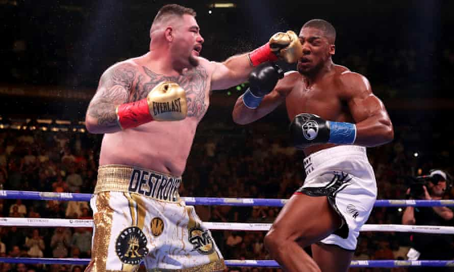 Andy Ruiz Jr, left, and Anthony Joshua, right, are set to for a rematch in Saudi Arabia.