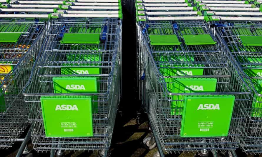 Asda trolleys