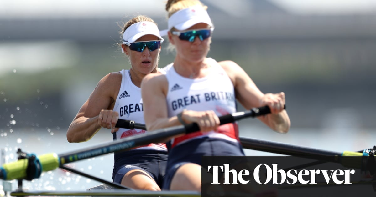 Helen Glover insists 'more to come' after historic appearance in rowing pairs