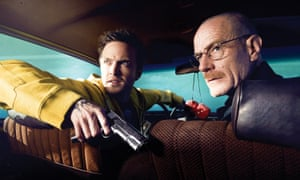 Aaron Paul and Bryan Cranston in Breaking Bad.