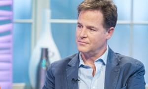Nick Clegg's intervention has angered at least one senior Lib Dem.