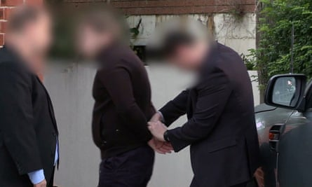 One of nine people being arrested over a $165m tax fraud investigation
